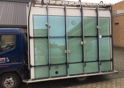 Beglazing van 240 kg Basisschool Nijmegen