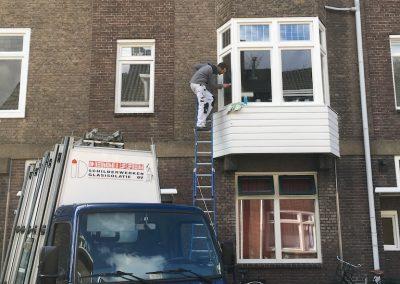 Glasrenovatie Evertsenstraat te Nijmegen