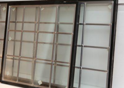 Glas in lood ingebouwd in isolatieglas